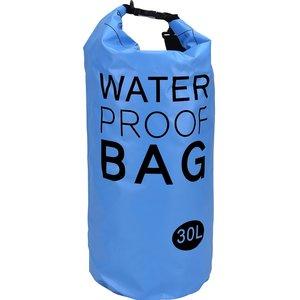 Waterdichte tas XXL 30L blauw