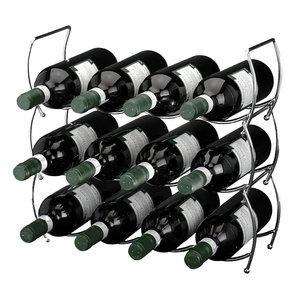 Excellent Houseware. Stapelbaar wijnrek  (3 delig)