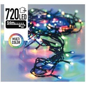 DecorativeLighting Kerstverlichting 720 LED's 54 meter multicolor