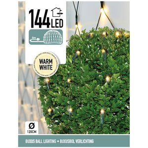 DecorativeLighting Buxus Netverlichting 144 LED's warm wit