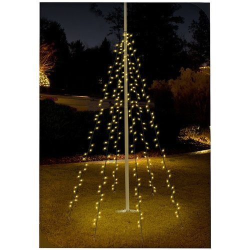DecorativeLighting Vlaggenmast verlichting 192 LED's - 208cm