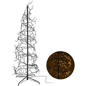 Kerstboom spiraal 240cm - 576 LED - warm wit