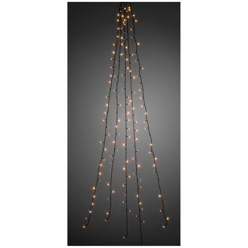 Konstsmide Lichtmantel - 180cm - 5 strengen - 150 LED - warm wit