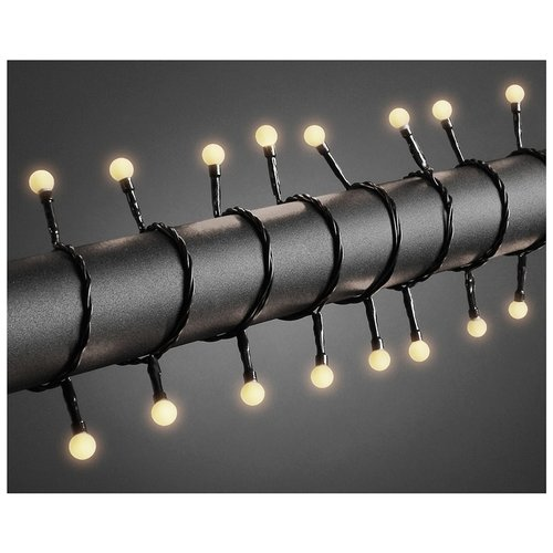 Konstsmide LED Lichtsnoer 80 lichtbolletjes - 6.30 meter - warm wit