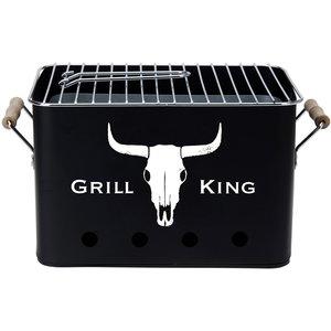 BBQ Retro Tafel-barbecue - Grill King