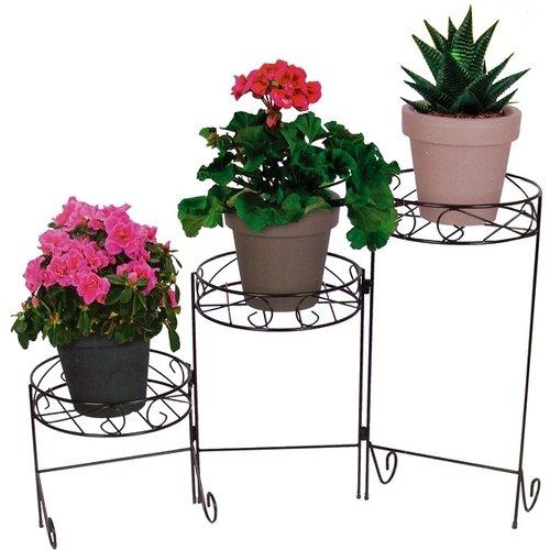 Plantenstandaard met 3 niveaus