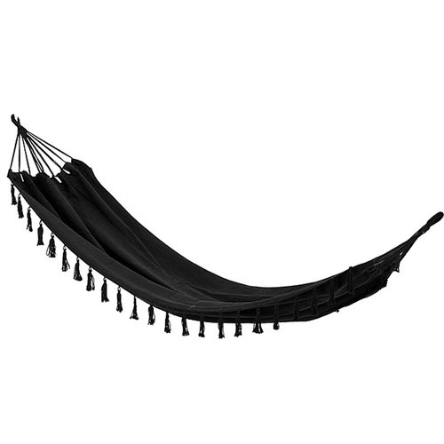 Ceruzo Hangmat - 1 persoons - zwart