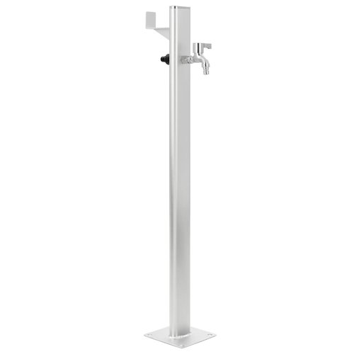 vidaXL Tuinwaterkolom 95 cm aluminium
