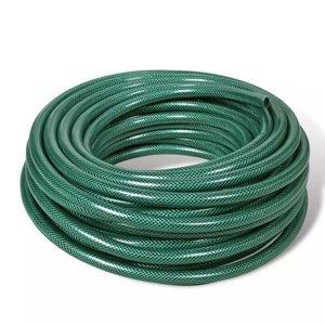 vidaXL Groene PVC tuinslang 25 m / 1 inch diameter