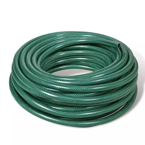 vidaXL Groene PVC tuinslang 50 m / 1/2 inch diameter