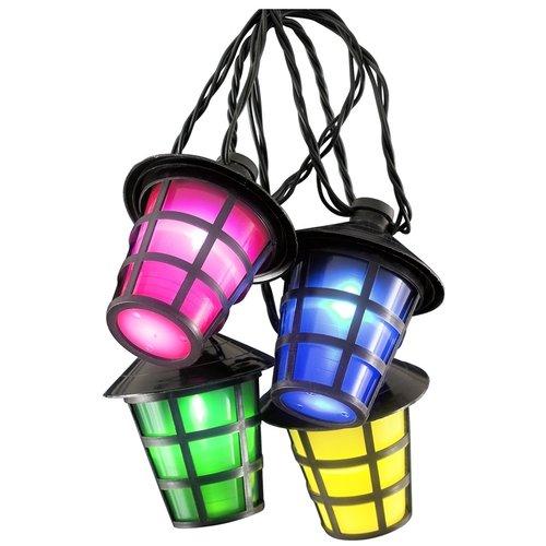 Konstsmide Tuinverlichting met 20 LED-lantaarns - multicolor