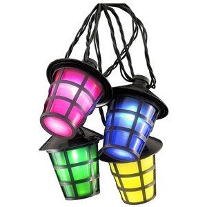 Konstsmide Tuinverlichting met 40 LED-lantaarns - multicolor