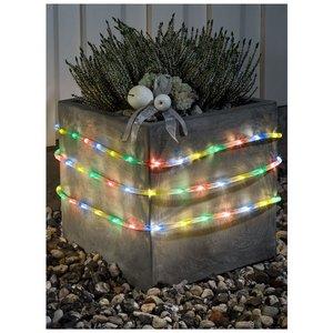 Konstsmide LED Lichtslang 9 meter, met sensor en timer, multicolor - 144 LED's