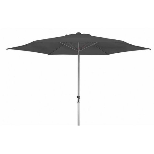 Doppler Parasol Basic Lift II 300 cm rond Antraciet