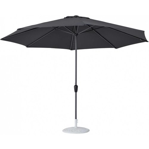Doppler Parasol Basic Lift II 350 cm rond Antraciet