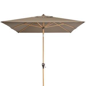Doppler Zweefparasol Alu Wood 300x200 cm
