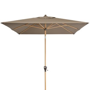 Doppler Zweefparasol Alu Wood 300x220 cm