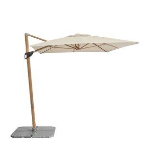 Doppler doppler hangende paraplu Alu Wood 300x220 cm