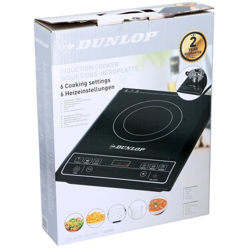 Dunlop Inductie kookplaat 1600W