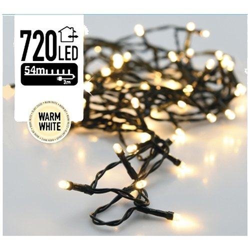 DecorativeLighting Kerstverlichting 720 LED's 54 meter warm wit