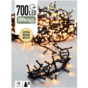 DecorativeLighting Micro Cluster 700 LED's 14 meter extra warm wit