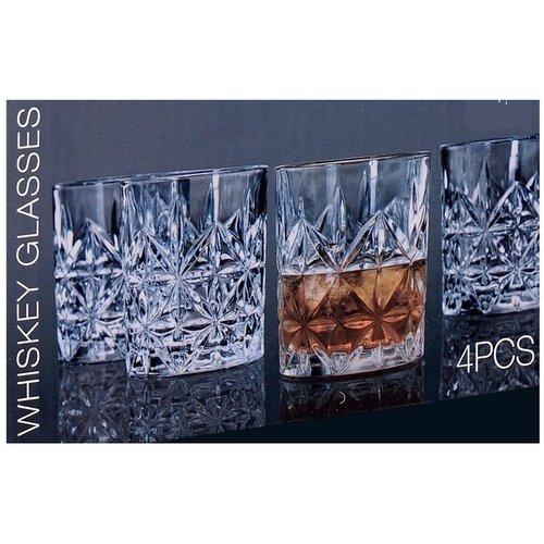 Ceruzo Whiskey glazenset - 4 stuks