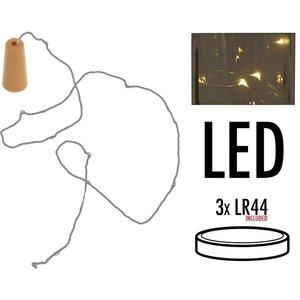 Ceruzo Kurk met 8 LED lampjes - 6 stuks