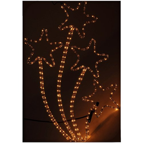DecorativeLighting Slangverlichting sterren 72 cm