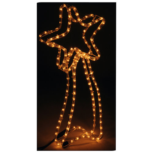 DecorativeLighting Slangverlichting ster 62 cm