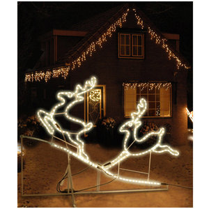 DecorativeLighting Lichtslang rendieren 130x100cm
