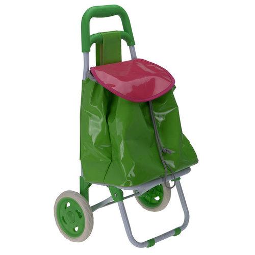 Kinderboodschappenwagen (groen)