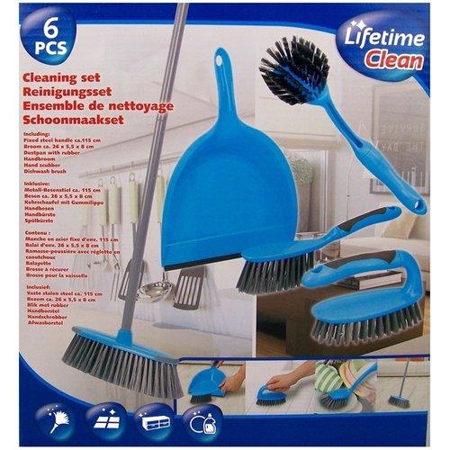 Lifetime Clean Schoonmaakset - 6 delig