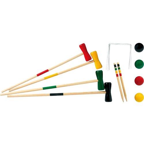 Houten Croquet spel