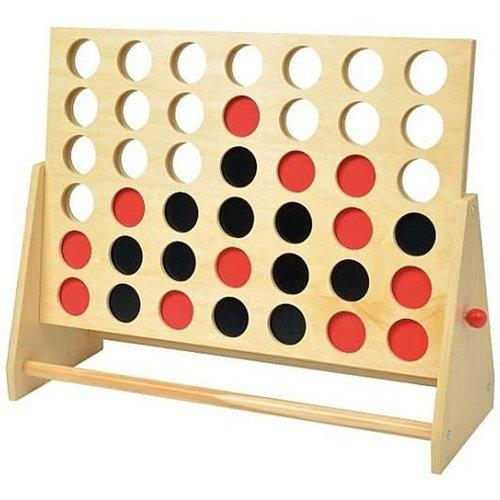 Vier op een lijn XXL  - houten spel