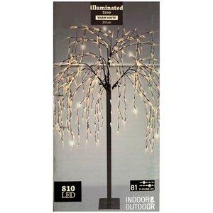 DecorativeLighting Wilgenboom 210cm - 810 LED's - flashing