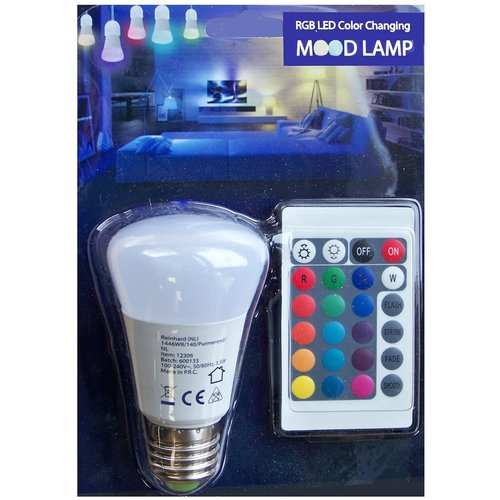 LED Mood lamp met afstandsbediening