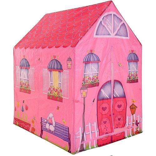 Kinderspeeltent - prinsessenhuis
