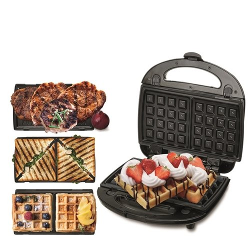 Camry CR3024 - Grill, sandwich en wafelmaker - 3in1