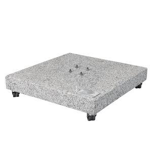 Doppler Doppler granieten plaat oprolbaar 140 kg
