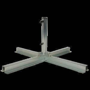 Doppler Doppler plaatstandaard roestvrij staal