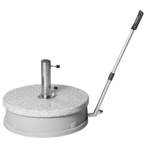 "Doppler Expert granieten basis 45 kg ""Easy Move"""