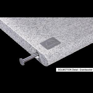 Doppler Granieten basis 170 kg voor SOLMOTION 400 E-drive