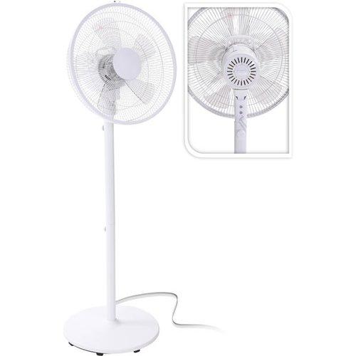 Excellent Electrics Staande ventilator - metaal - 3 standen