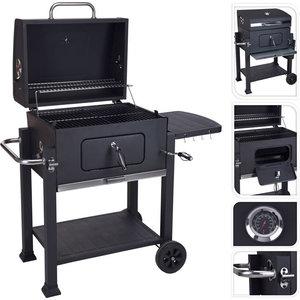 Vaggan Barbecue mat zwart - houtskool