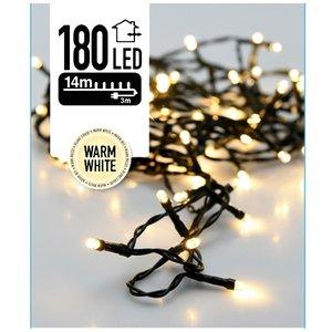 DecorativeLighting LED-verlichting 180 LED's 13.5 meter warm wit