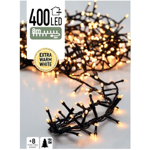 DecorativeLighting Micro Cluster 400 LED's 8 meter extra warm wit