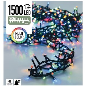 DecorativeLighting Micro Cluster 1500 LED's 30 meter multicolor
