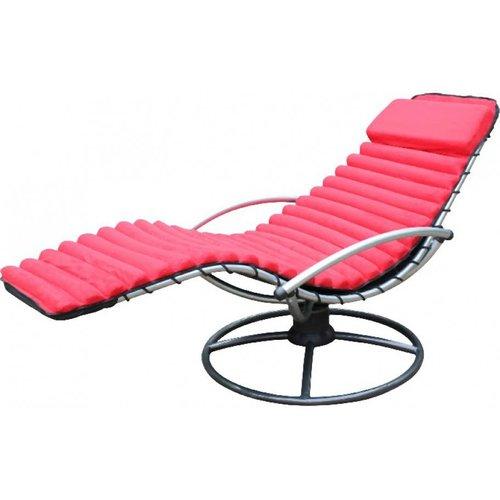 Leco Kussen voor Leco wip- en schommelstoel-Rood