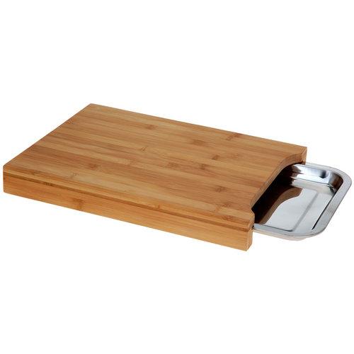 Excellent Houseware. Bamboe snijplank met opvangbak