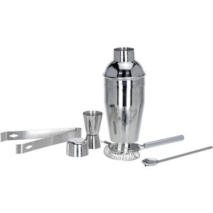 Excellent Houseware. RVS Cocktailshakerset 5 dlg